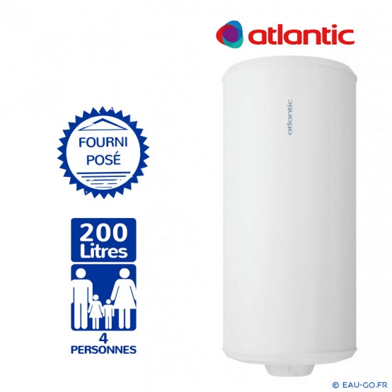 Compagnie Chauffage Et Climatisation Chaudiere Rennes Chauffe Eau Electrique Atlantic 200 Litres Chauffeo 224